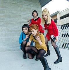 Look for the group costumes on this site!!! Star Trek | Kostüm-Idee für Gruppen zu Karneval, Halloween & Fasching
