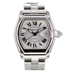 5f1f211e9af Cartier Roadster W62025V3 DATE Stainless Steel Automatic Wristwatch for Men  Cartier Roadster