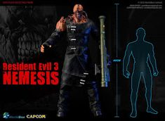 onesixthscalepictures: World Box Resident Evil 3 NEMESIS Resident Evil Nemesis, Albert Wesker, Sideshow Collectibles, Gi Joe, World, Box, The World, Snare Drum, Earth