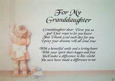 Granddaughter Verses - Bing images