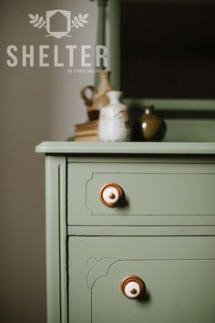 SHELTER by Spruce Collective - Furniture Paint - Made in Canada - OAK MOSS