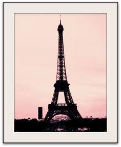 Silence and Noise- Paris Eiffel Tower Photography Print. $28.00, via Etsy.