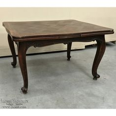 Antique Furniture | Antique Dining Furniture | Antique Dining Tables | Antique Country French Draw Leaf Dining Table | www.inessa.com