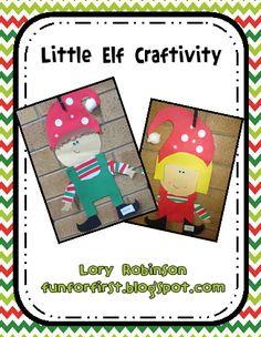Seasonal 1st grade fun on Pinterest | Christmas Writing, Gingerbread ...