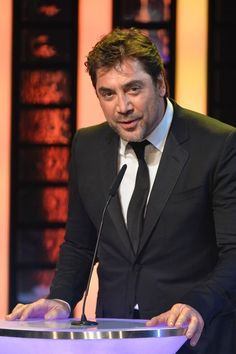 Javier Bardem Photos - Javier Bardem attends the Goya Cinema Awards 2014 ceremony at Centro de Congresos Principe Felipe on February 2014 in Madrid, Spain. Javier Bardem, Spanish Actress, March 1st, Penelope Cruz, Feature Film, A Good Man, The Dreamers, Films, Cinema