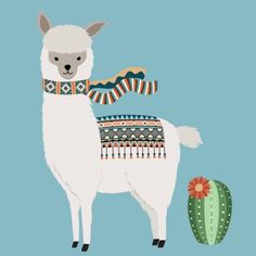 Alpaca & Cactus 5 x 7 in 8 x 10 in Nursery decor Kids decor Blue Nursery art Baby gift Printa Alpacas, Nursery Art, Nursery Decor, Alpaca Drawing, Cactus Costume, Llama Arts, Llama Llama, Funny Llama, Cactus Art