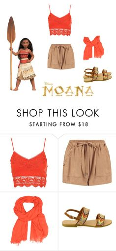 """Moana inspired outfit"" by ellie-may346 on Polyvore featuring Boohoo and LA77"