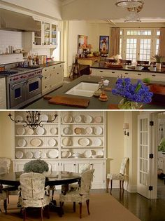 Something's Gotta Give~Erica's Beach House~ Kitchen Top Dinning Room Bottom