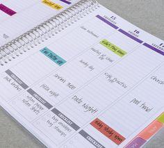 2014 & 2015 Teacher Planner by PlumPaperDesigns on Etsy
