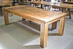 recycled timber tables - Google Search