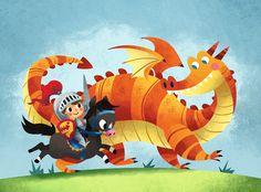 Dragon Knight by MelDraws on deviantART