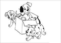 101 Dalmatiner | Ausmalbilder Disney
