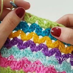 Learn how to crochet shell stitch the shell stitch is a fairly simple stitch that creates an intricate shell pattern you can work it in rows in the round or as a blanket edging enjoy guys craftidea org Crochet Stitches Free, Crochet Shell Stitch, Granny Square Crochet Pattern, Crochet Blanket Patterns, Filet Crochet, Knit Crochet, Double Crochet, Crochet Cactus, Crochet Butterfly