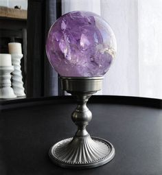 Large Natural Amethyst Sphere,Crystal Ball