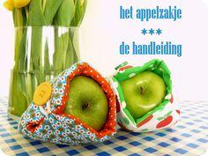 hilde@home: Het appelzakje - De handleiding Voor kouwelijke appels ;-)