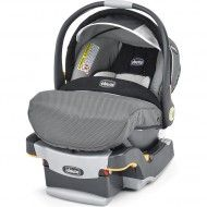The Chicco KeyFit 30 Infant Car Seat is a favorite because it's extremely easy to install. The baby car seat features a removable newborn insert, a thickly cushioned seat, a 5-point safety harness, energy-absorbing foam lining and more.