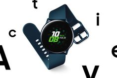 Samsung Galaxy Watch Active is a versatile offering falling somewhere between sports watch and minimalist timepiece. Watches Photography, Men Photography, Stress And Health, Tech Branding, Ios Phone, Geek Gadgets, Men's Outfits, Cool Gear, Classic Man