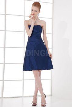 Unique Blue Taffeta Bridesmaids Gowns - Order Link: http://www.theweddingdresses.com/unique-blue-taffeta-bridesmaids-gowns-twdn5122.html - Embellishments: Beading; Length: Floor Length; Fabric: Taffeta; Waist: Natural - Price: 86.6188USD