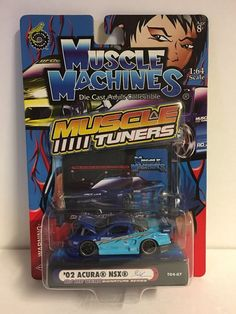 NEW Muscle Machines Muscle Tuners '02 Acura NSX T04-07    eBay