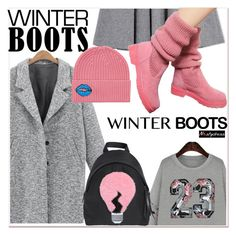 """""""Awesome Winter Boots"""" by paculi ❤ liked on Polyvore featuring Fendi, Markus Lupfer, winterboots and nastydress"""