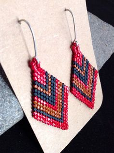 Hey, I found this really awesome Etsy listing at https://www.etsy.com/listing/175300167/beadwork-earrings-beaded-earrings-native