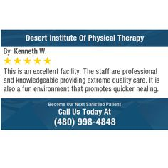 This is an excellent facility. The staff are professional and knowledgeable providing...