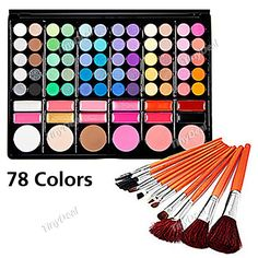 Silky 78 Colors Makeup Eye Shadow Palette