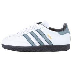 adidas Samba® (Youth) White/Indigo Tint/True Blue/Metallic Gold adidas. $24.99. Save 50% Off!