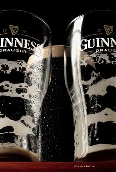 Guinness. Now in a bottle.