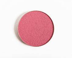 Make Up For Ever I808 English Pink Artist Shadow ($19.00 for 0.08 oz.) is muted, medium rosy pink with warm undertones and a satin finish. It had nice colo