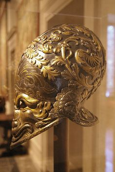 """The Morosini Helmet"" (Visored burgonet) by THoog, via Flickr"