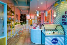 SOFT TOUCH MALL ZONA 2 / Diseño de restaurante on Behance