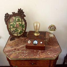 Lampada da Scrivania/Comodino Edison in legno di MaxCreationsItaly
