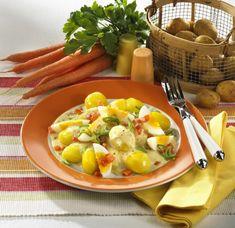 Unser beliebtes Rezept für Neue Kartoffeln mit Eierragout und mehr als 55.000 weitere kostenlose Rezepte auf LECKER.de.