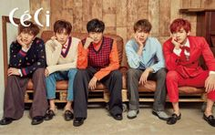 B1A4 - Céci Magazine February Issue '17