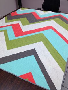 Ascend Quilt - by Kerrie at In My Sewing Room.
