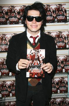 Gerard Way -The Umbrella Academy one of the books he's written personally a favorite.