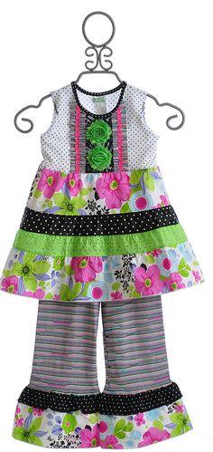ZaZa Couture Girls Boutique Capri Set $66.00