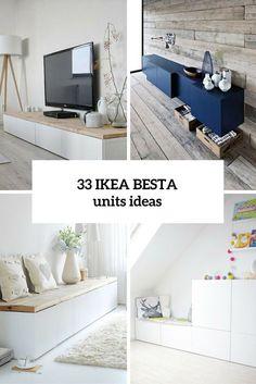 33 idées de décoration avec des meubles Ikea