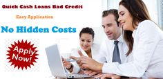 Quick Cash Loans Bad Credit: Effective Monetary Solution for Bad Creditors in Crisis