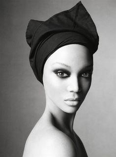 Tyra Banks / Steven Meisel / Vouge Italia / 2008