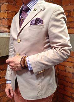 Arranged in a very Italian fashion. We Wear, How To Wear, Sartorialist, Perry Ellis, Italian Fashion, Men's Apparel, Sport Coat, Dapper, Blazers
