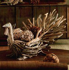 Love this driftwood Turkey!!