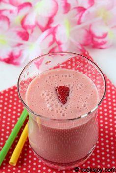 Strawberry-Orange Smoothie ... sub with fresh squeezed orange juice and coconut cream.