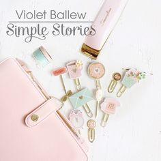 Creative team member Violet Ballew with the Carpe Diem Reset Girl planner