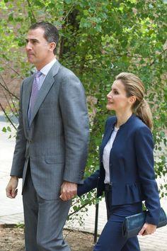 Queen Letizia of Spain Layered Cut - Queen Letizia of Spain Looks - StyleBistro