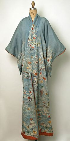 Kimono (image 1) | Japan | 19th century | silk | Metropolitan Museum of Art | Accession Number: C.I.53.22.9