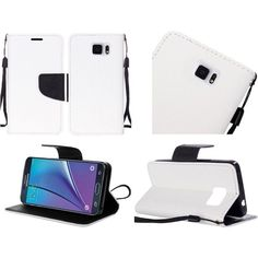 327f762c7 Insten Leather Case Cover Lanyard with Stand For Samsung Galaxy Note 5
