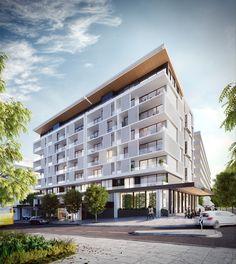 Park Avenue Apartments, Greater Springfield - Plus Architecture
