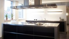 20mm stainless steel worktop by ABK InnoVent